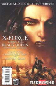 X-Force #21 Clayton Crain Retail Variant X-Necrosha (2009) Marvel comic book